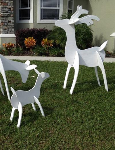 Wooden Deer Cohen Creek Custom Designs